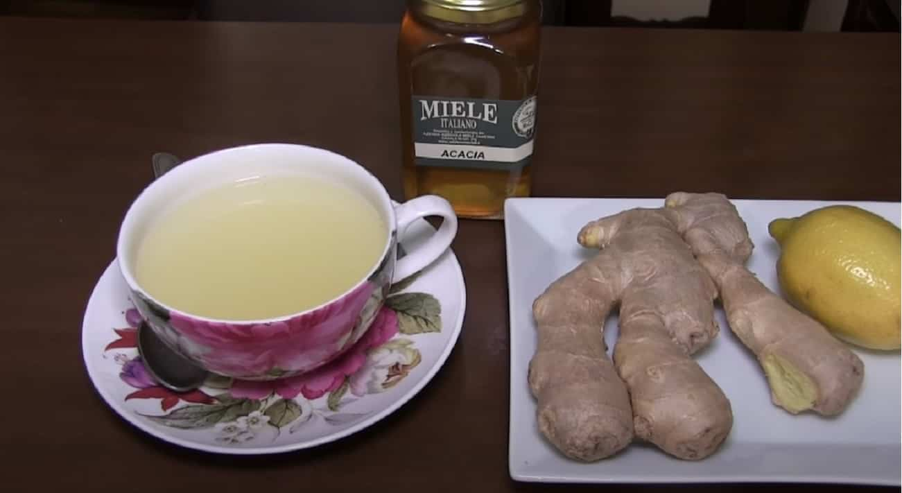 Depurarsi con lo zenzero e limone tisana
