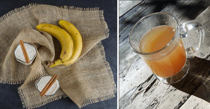 Infuso di banane e cannella: una manna dal cielo contro l'insonnia