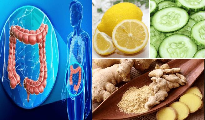 Limone, zenzero e cetriolo... 3 ingredienti per una super bevanda detox e disinfettante