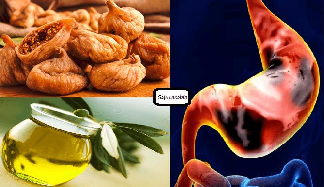Macerato di Fichi secchi ed olio di oliva... Il mix perfetto per curare disturbi gastrici e non solo!