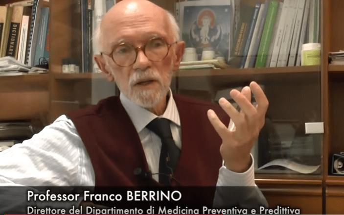 """Prof. Franco Berrino :""""Raccomando a chi ha un tumore di non bere latte di mucca"""".IL VIDEO"""