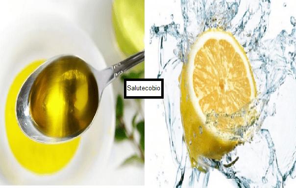 Limone e olio d' oliva: il miglior ricostituente naturale