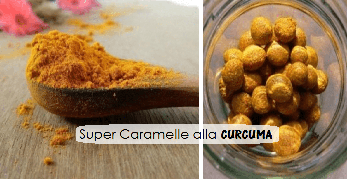 Caramelle alla curcuma