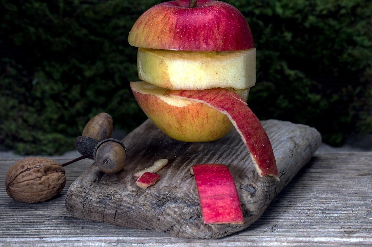 buccia di mela proprietà
