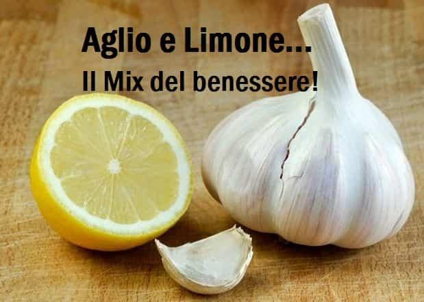Aglio e Limone:L' ottima soluzione contro grassi e Calcificazioni