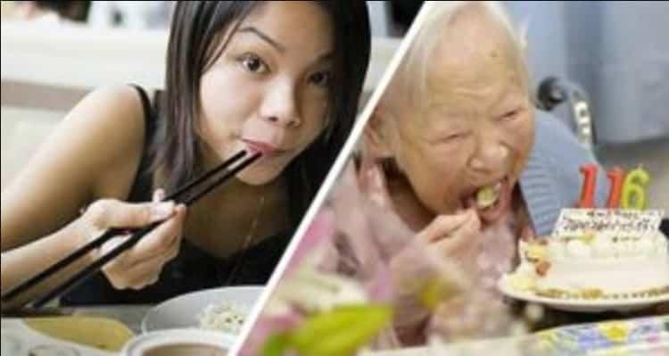 Asiatici quasi tutti magri e longevi. I loro segreti alimentari