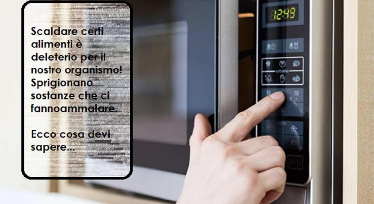 Scaldare alimenti in forno