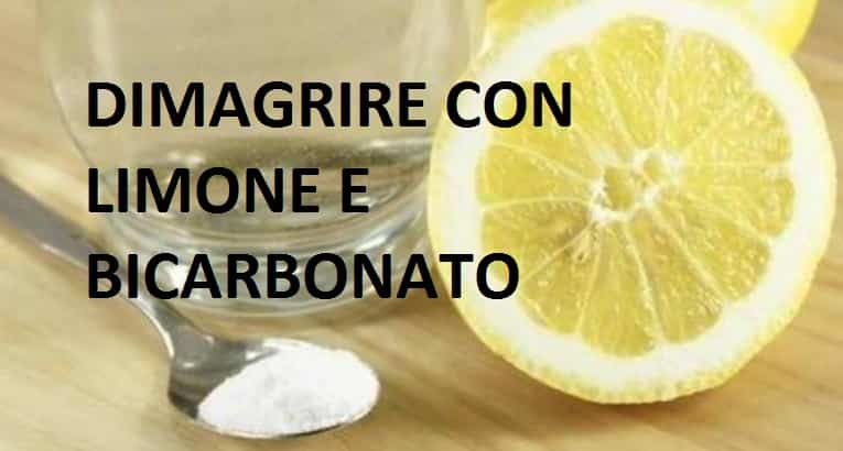 Bicarbonato e limone:lo sapevi che puoi dimagrire con questo mix?