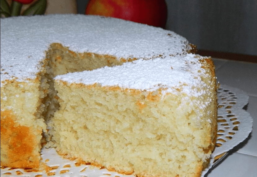 torta all' acqua