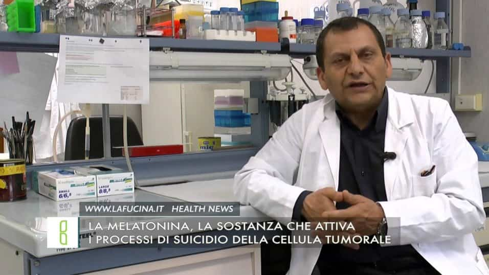 la melatonina attiva i processi di suicidio della cellula tumorale