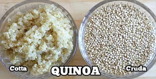 La quinoa combatte diabete e colesterolo.Ecco come cucinarla