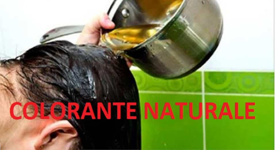 Colorante naturale per capelli