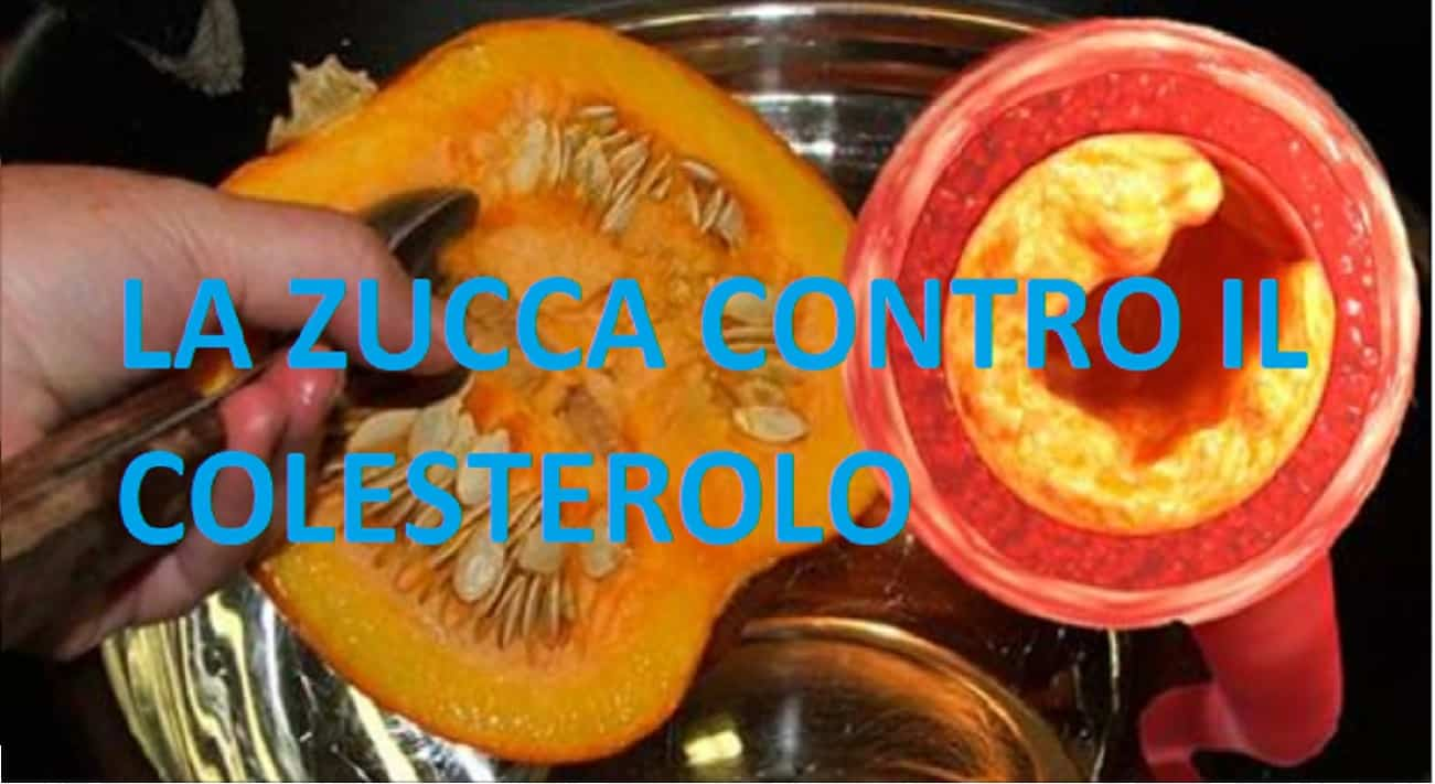 Zucca - Cura naturale per trigliceridi e colesterolo