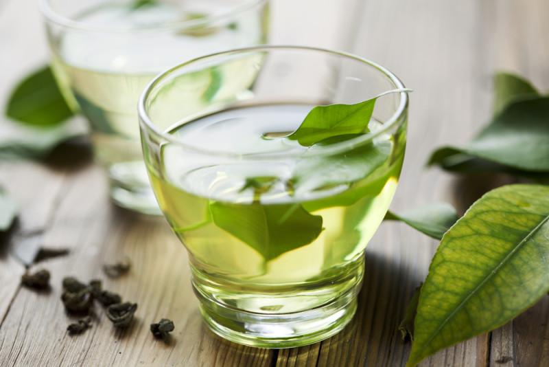 retrazione gengivale tè verde