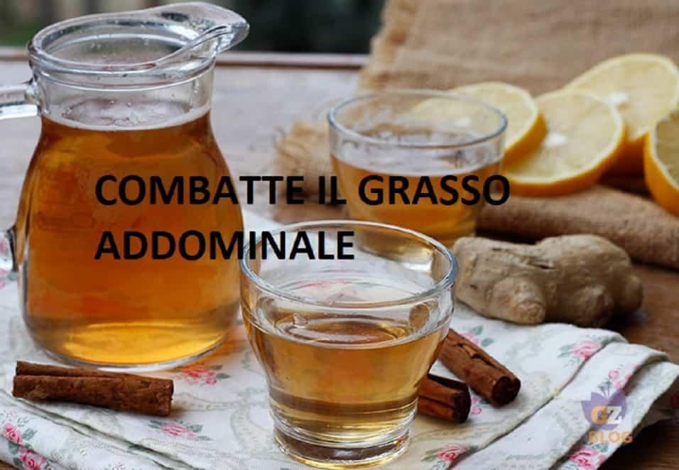 Grasso addominale rimedio naturale, bevanda