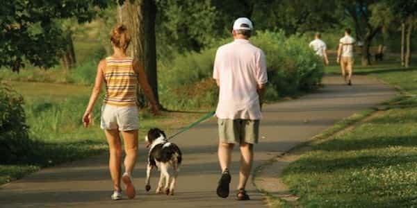 camminare passeggiata cattiva circolazione