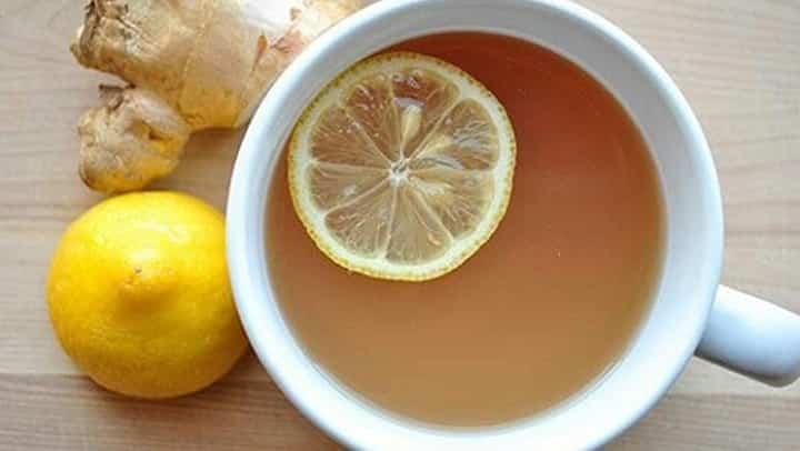 ripulire il fegato con acqua allo zenzero e limone