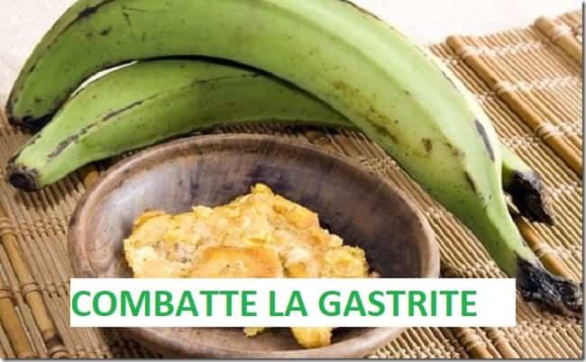 Come curare la gastrite con la banana verde