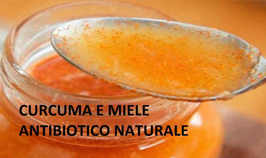 Curcuma e miele: un potente antibiotico naturale.Come prepararlo