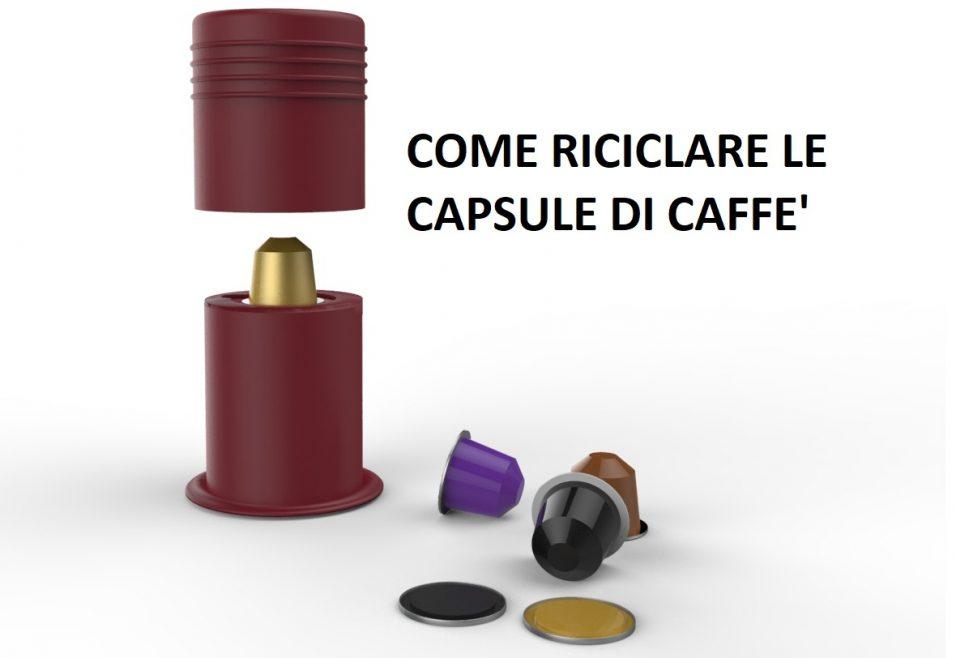 Walter Magnus e l' invenzione per riciclare le capsule di caffè