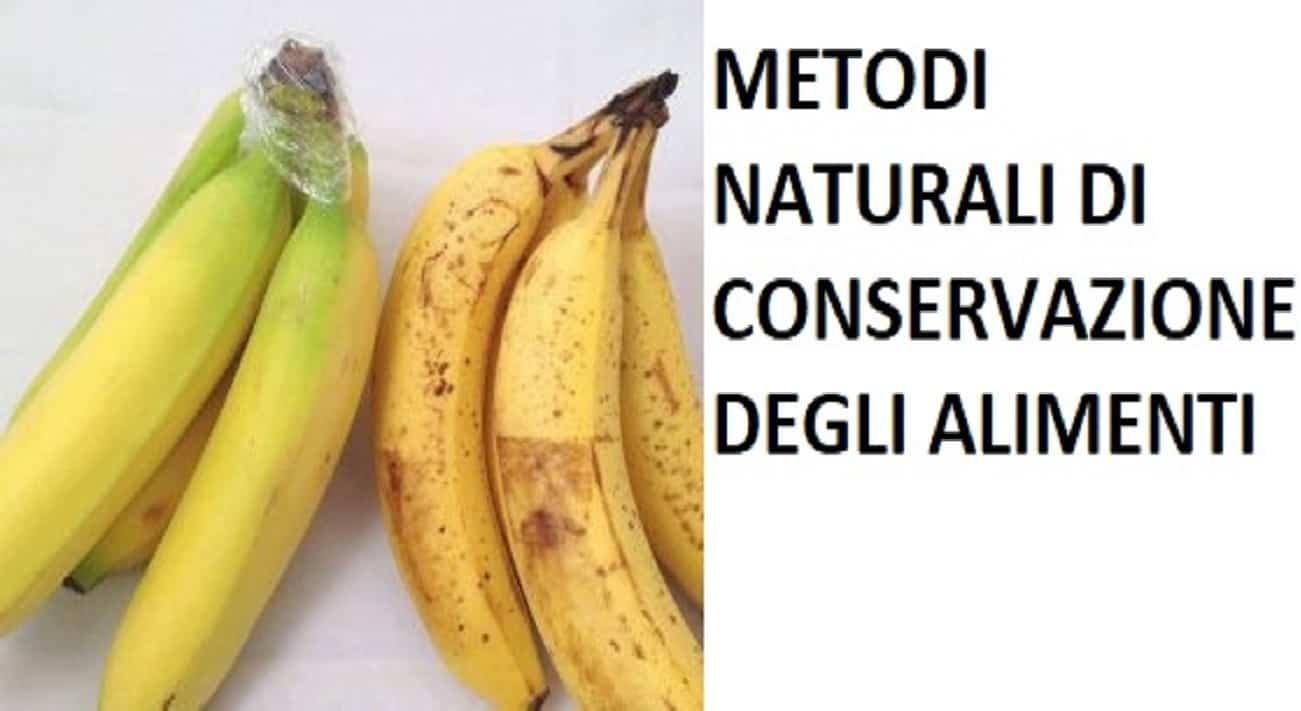Metodi conservanti naturali alimentari