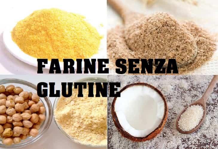 farina per celiaci farine senza glutine