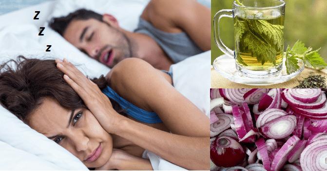 Come smettere di russare con questi rimedi semplici e naturali