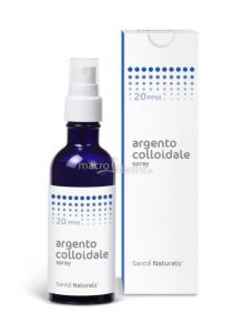 benefici dell' argento colloidale proprietà - spray nasale