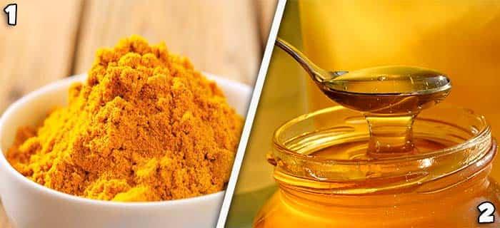 curcuma e miele proprietà e benefici