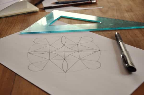 come disegnare un mandala