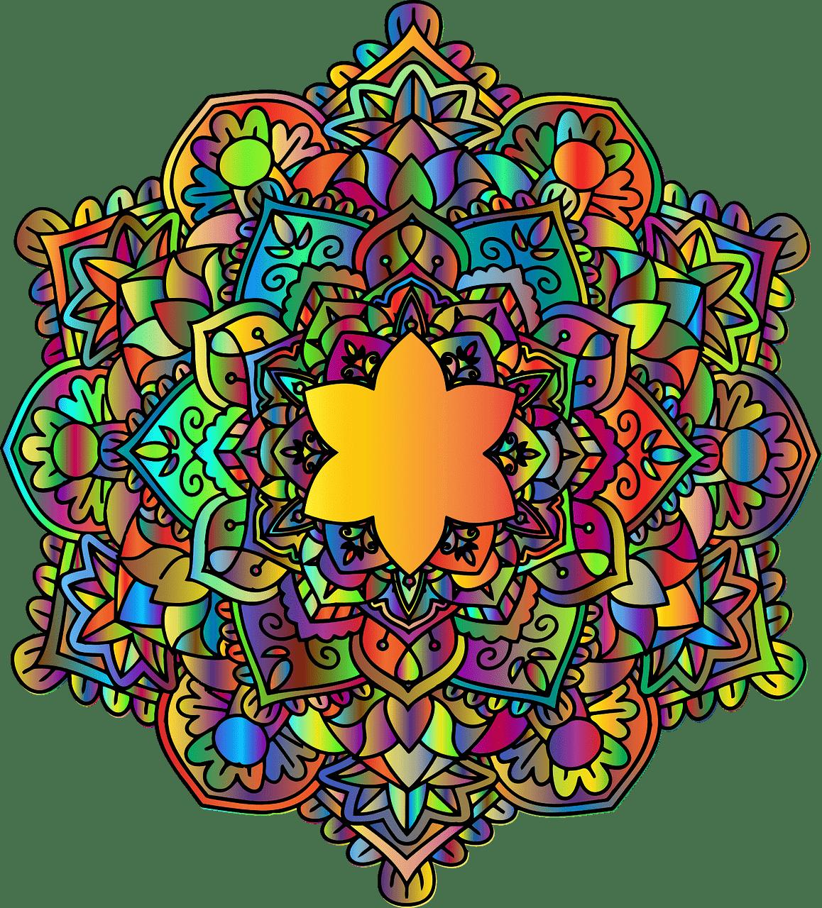 mandala significato colori