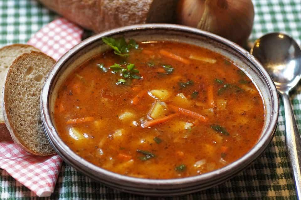 dieta della zuppa mista