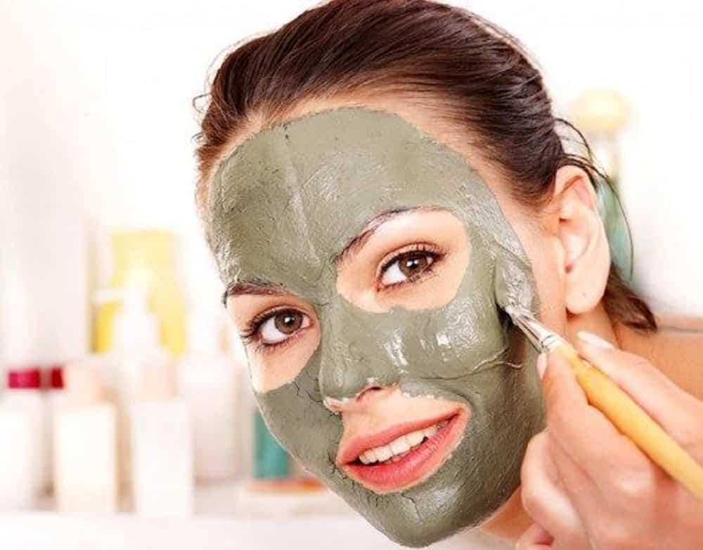 argilla verde maschera purificante