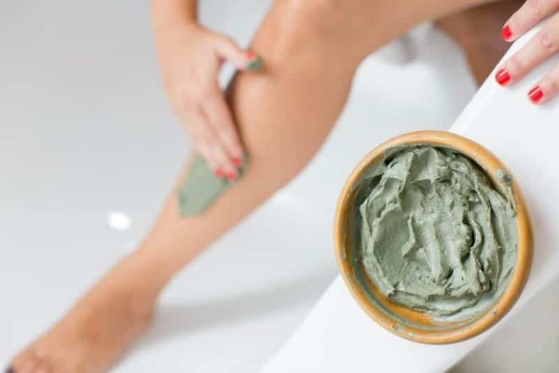 argilla verde trattamento anticellulite