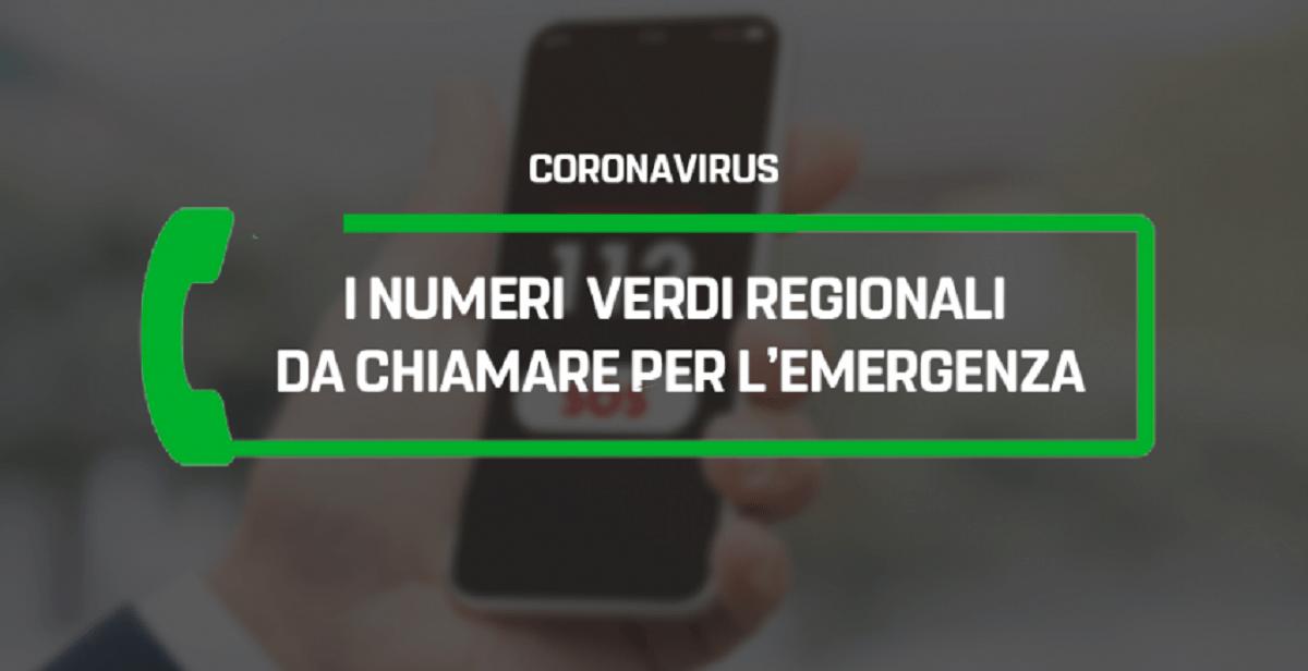 Sintomi del coronavirus, numeri da chiamare e prevenzione
