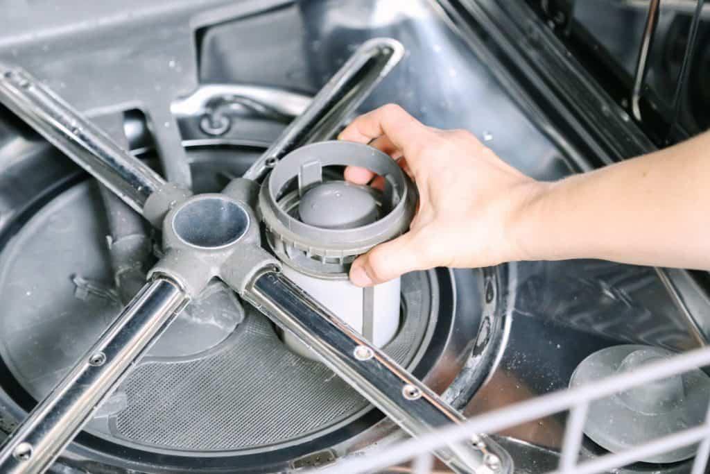 pulire filtro lavastoviglie