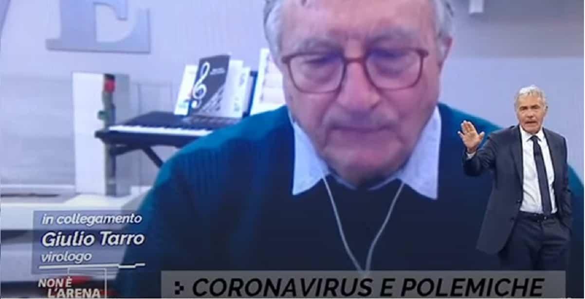 """Virologo Tarro: """"in estate saremo immuni, non ci sarà motivo di stare a casa"""""""