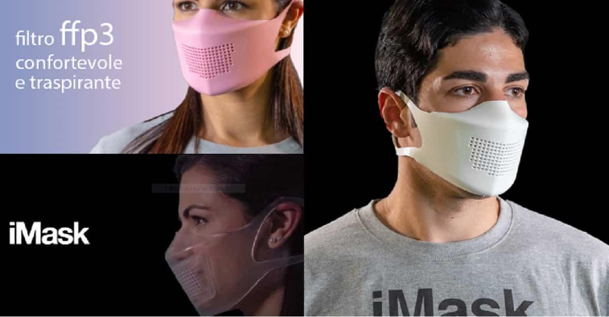iMask: dalla Sicilia la mascherina FFP3 che dura PER SEMPRE