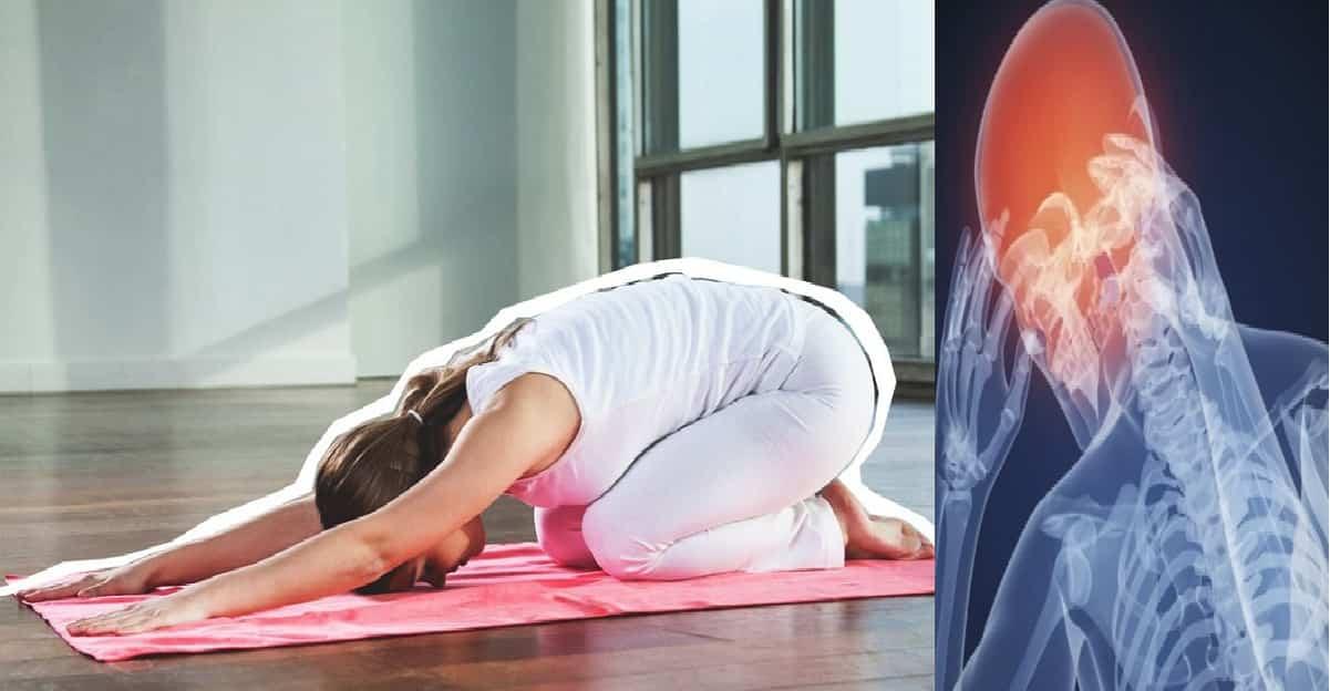 3 posture yoga per calmare l'emicrania all'istante