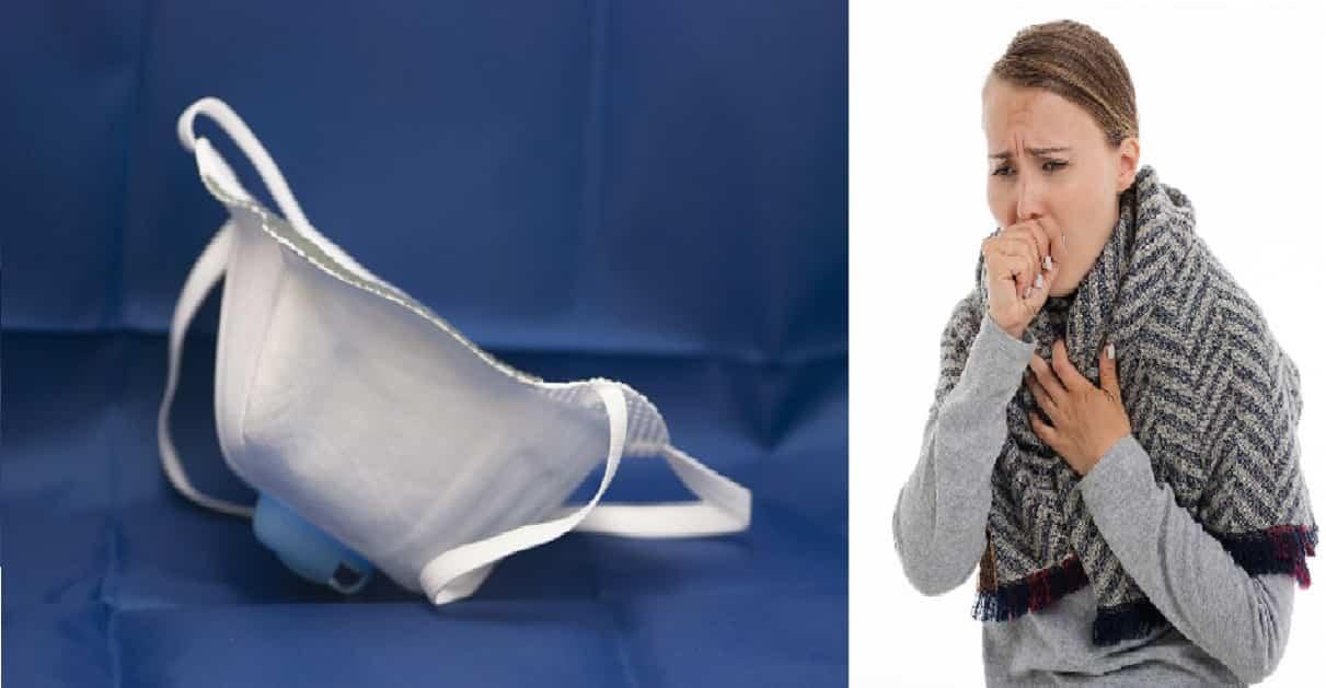 Tosse e mascherine di protezione: una relazione abbastanza pericolosa