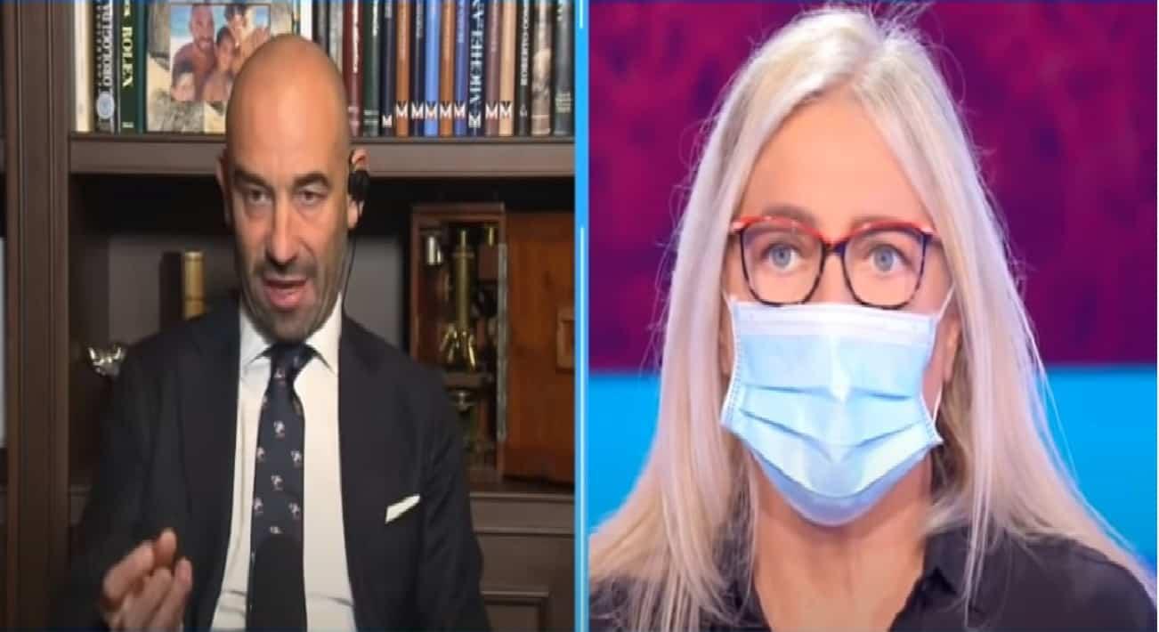"""La proposta """"anti-contagio"""" di Matteo Bassetti per giovani e anziani a Domenica In"""