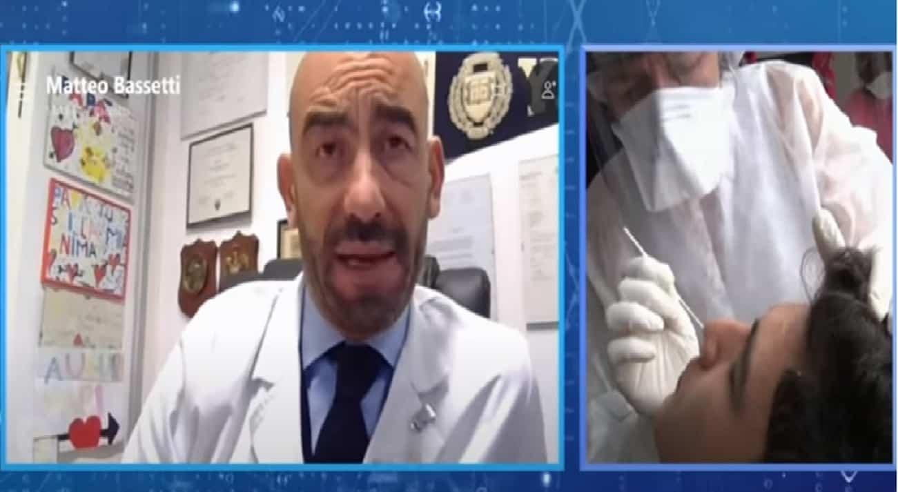 """Matteo Bassetti: """"il positivo asintomatico non deve assumere farmaci"""""""