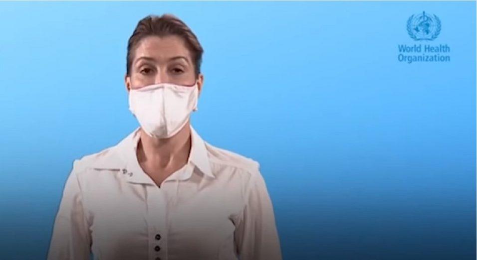 Organizzazione Mondiale della Sanità linee guida mascherine