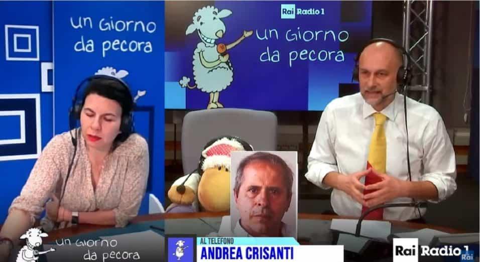 Andrea Crisanti ospite a Un Giorno Da Pecora