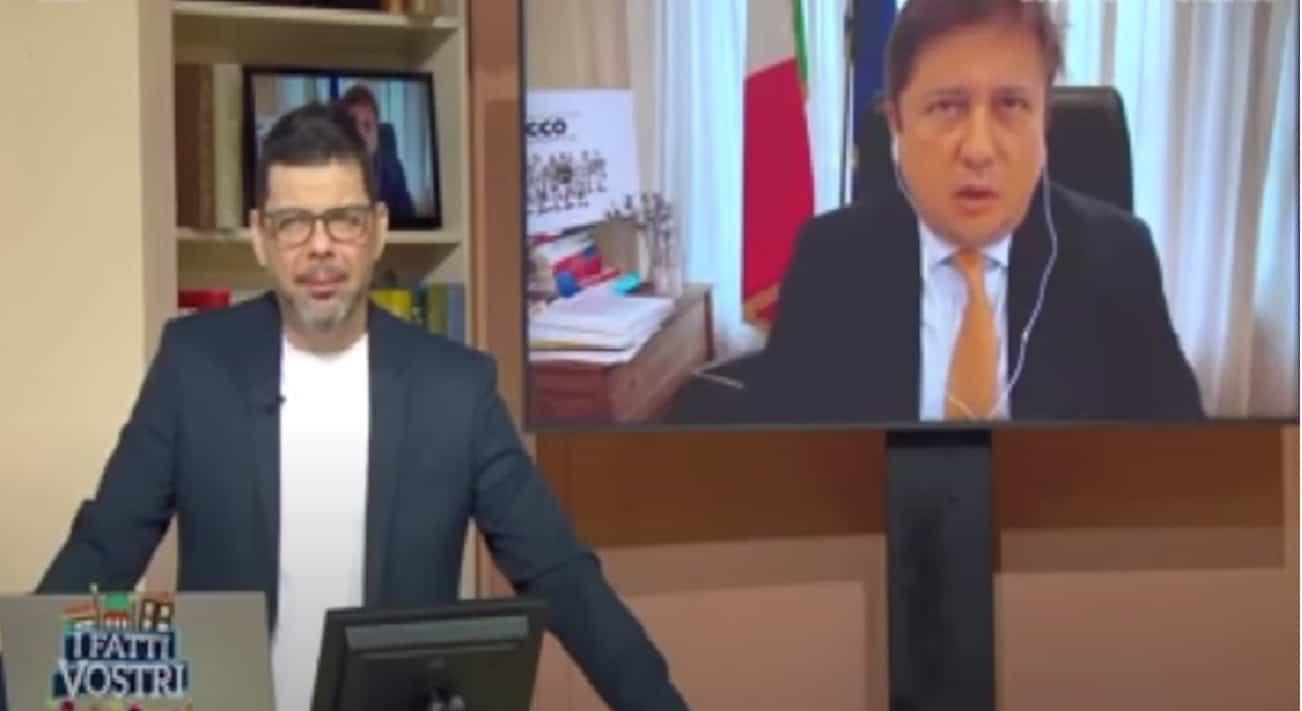 Pierpaolo Sileri ospite a I Fatti Vostri
