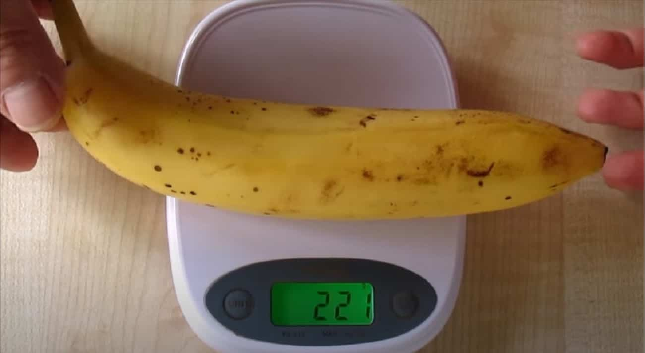 Quante calorie ha una banana