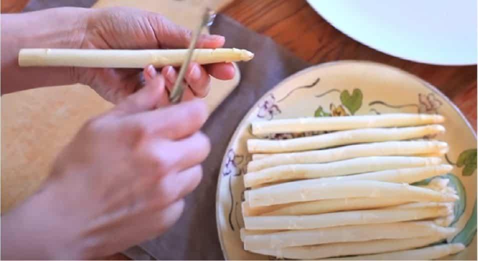 Cottura asparagi bianchi