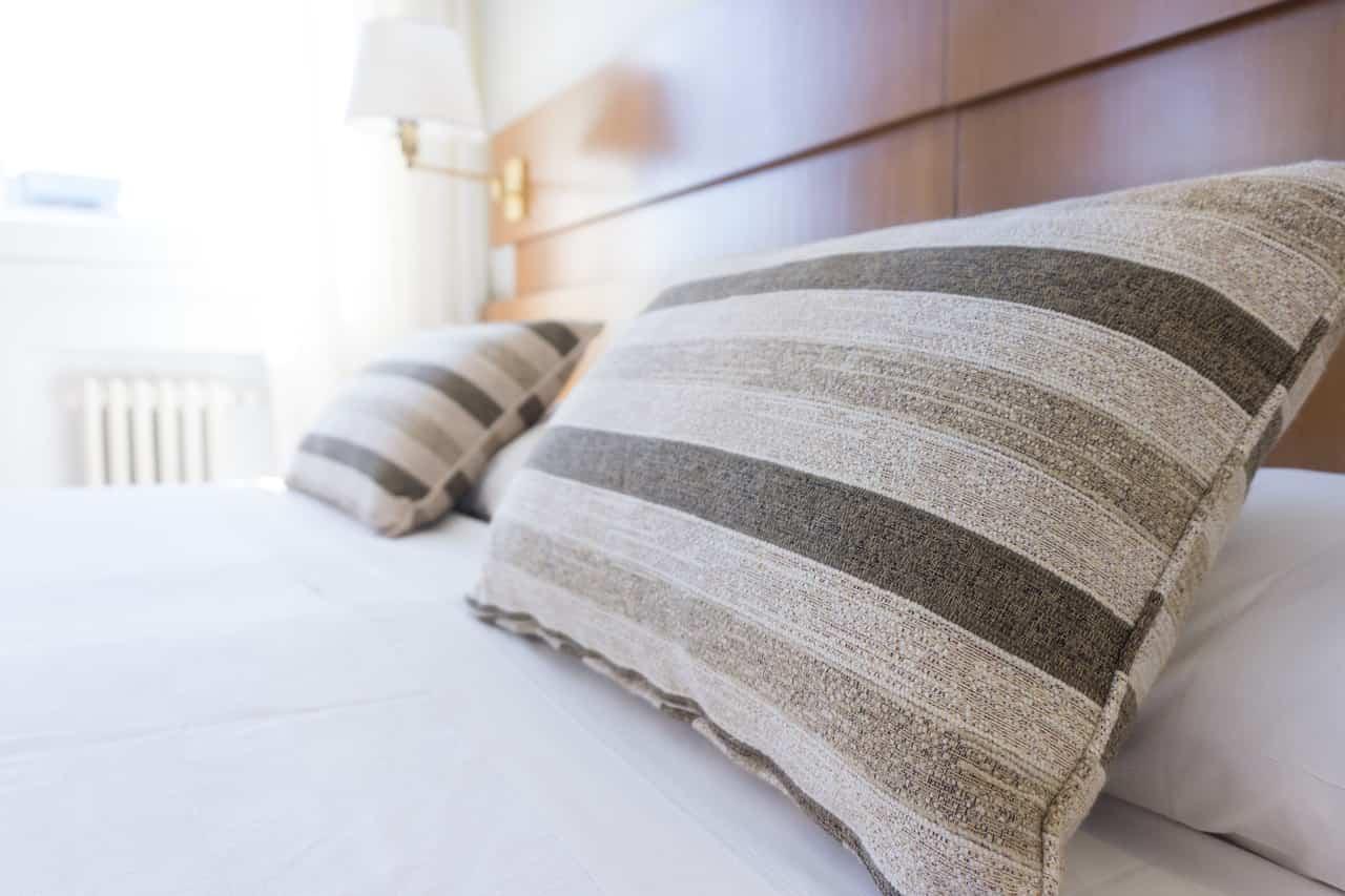 Cuscini sul materasso